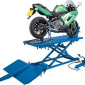 680kg Pneumatic/Hydraulic Motorcycle/ATV Small Garden Machinery Lift