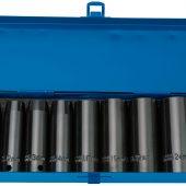 """1/2"""" Sq. Dr. Draper HI-TORQ® Metric Deep Impact Socket Set (10 piece)"""