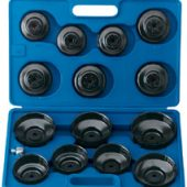 "Oil Filter Cup Socket Set, 3/8"" Sq. Dr. (15 piece)"