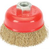 60mm x M14 Crimped Wire Cup Brush