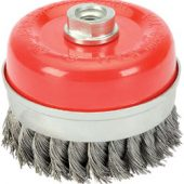 100mm x M14 Twist Knot Wire Cup Brush