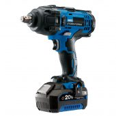 """Draper Storm Force® 20V 1/2"""" Mid-Torque Impact Wrench (400Nm) With (+1x 4Ah Battery and Charger)"""
