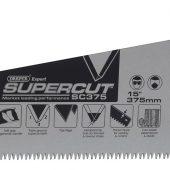 "Supercut® Soft Grip Hardpoint Tool Box Handsaw, 375mm/15"", 7tpi/8ppi"