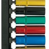 "Metric Coloured Deep Socket Set, 3/8"" Sq. Dr. (12 Piece)"