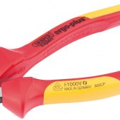 180mm Ergo Plus® Fully Insulated VDE Diagonal Side Cutters