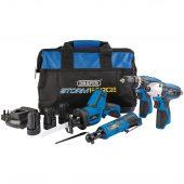 Draper Storm Force ® 10.8V Power Interchange Kit (9 Piece)