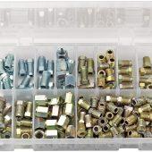 Brake Pipe Fittings Kit (205 Piece)