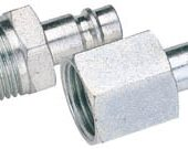 """1/2"""" BSP Male Nut PCL Euro Coupling Adaptor (Sold Loose)"""