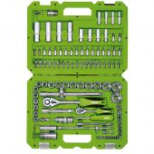 """1/4"""" and 1/2"""" Sq. Dr. Metric Tool Kit (100 Piece)"""