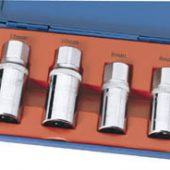 "1/2"" Sq. Dr. 4 Piece Stud Extractor Set"