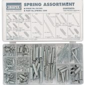 Compression and Extension Spring Assortment (200 Piece)