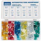 Standard Automotive Plug-In Fuse Assortment (120 Piece)