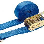 Ratchet Tie Down Strap, 5m x 50mm, 2500kg