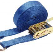 Ratchet Tie Down Strap, 10m x 50mm, 2500kg