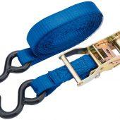 750kg Ratcheting Tie Down Straps (4.5M x 25mm)