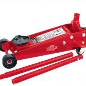 3 tonne Red Heavy Duty Garage Trolley Jack