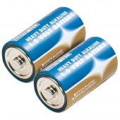 Heavy Duty Alkaline Batteries D (2-Pack)
