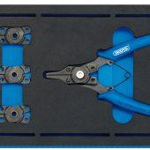 Interchangeable Circlip Plier Set in 1/4 Drawer EVA Insert Tray (5 Piece)