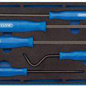 Scraper and Remover Set in 1/4 Drawer EVA Insert Tray (5 Piece)