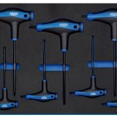 T' Handle Draper TX-STAR® Key Set in 3/4 Drawer EVA Insert Tray (7 Piece)