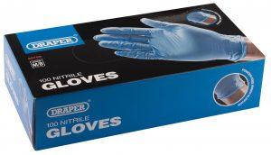 Medium Nitrile Gloves (Box of 100)
