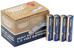 Heavy Duty Alkaline Batteries AAA (24-Pack, Shrink Wrapped in Packs of Four)