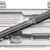 """Ratchet Torque Wrench, 3/8"""" Sq. Dr., 10 - 80Nm"""
