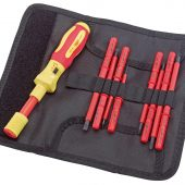 Ergo-Plus® Interchangeable VDE Approved Fully Insulated Torque Screwdriver Set (9 Piece)