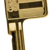 Key Blank for Draper 8311, 8312, 8314, 8315 and 8317 Series Padlocks