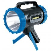 10W Cree LED Rechargeable Spotlight with Power Bank and Stand - 850 Lumens