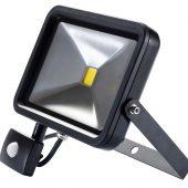 30W COB LED Slimline Wall Mounted Floodlight with PIR Sensor - 1,950 Lumens