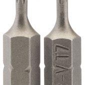 """T7 1/4"""" Hex Draper TX-STAR® Insert Bit 25mm Long x 2"""