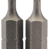 """T8 1/4"""" Hex Draper TX-STAR® Insert Bit 25mm Long x 2"""