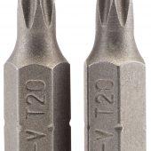 """T20 1/4"""" Hex Draper TX-STAR® Insert Bit 25mm Long x 2"""