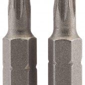"""T25 1/4"""" Hex Draper TX-STAR® Insert Bit 25mm Long x 2"""