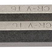 """T6 1/4"""" Hex Draper TX-STAR® Insert Bit 75mm Long x 2"""