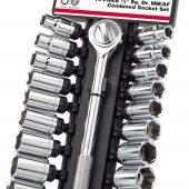 """1/2"""" Sq. Dr. MM/AF Combined Socket Set (19 Piece)"""