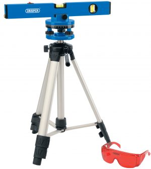 400mm Laser Level Kit with 360° Swivelling Tripod