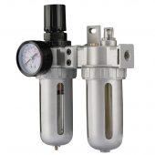 "1/4"" BSP Combined Filter/Regulator/Lubricator Unit"
