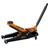 Low Entry Trolley Jack (2.25 tonne) Orange