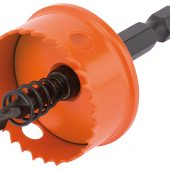 30mm Bi-Metal Hole Saw with Integrated Arbor