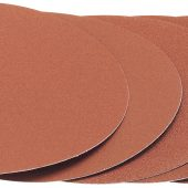 Five 80 Grit Hook and Eye Backed Aluminium Oxide (230mm)