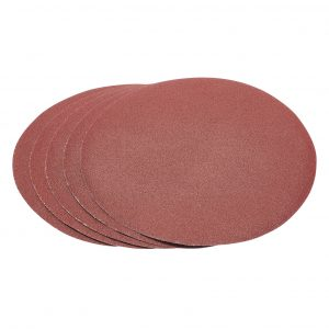 Five 100 Grit Hook and Eye Backed Aluminium Oxide (230mm)