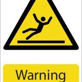 'Warning Wet Floor' Hazard Sign