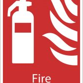 Fire Extinguisher' Fire Equipment Sign