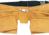 Double Leather Tool Belt
