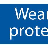 'Ear Protection' Mandatory Sign