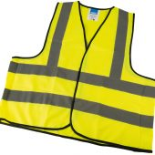 High Visibility Large Traffic Waistcoat to EN471 Class 2L