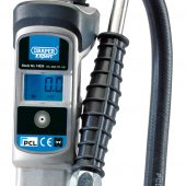 Digital Gauge Air Line Inflator with Twin Connectors