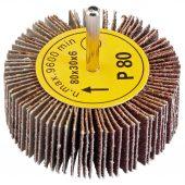 Abrasive Flap Wheel (80mm x 30mm 80 Grit)